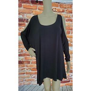 VGC Jay Godfrey Black Open Shoulder Dress Size 2